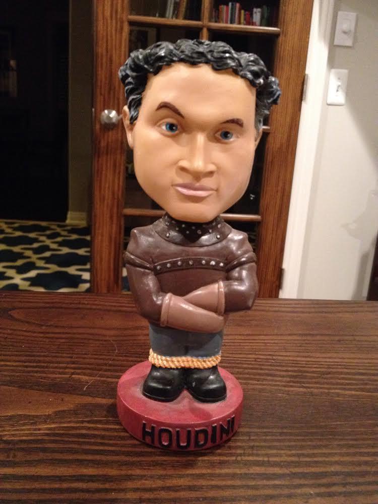 Bobblehead of Harry Houdini